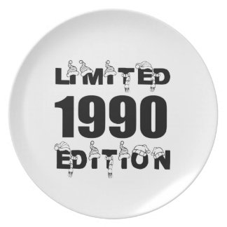 LIMITED 1990 EDITION BIRTHDAY DESIGNS PLATE