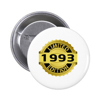 Limited 1993 Edition 6 Cm Round Badge
