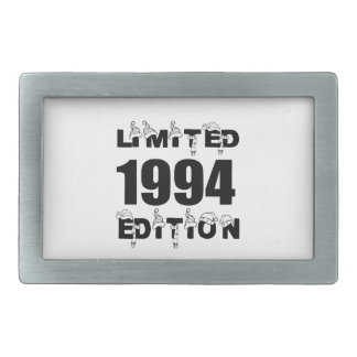LIMITED 1994 EDITION BIRTHDAY DESIGNS BELT BUCKLES