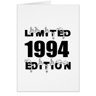 LIMITED 1994 EDITION BIRTHDAY DESIGNS CARD