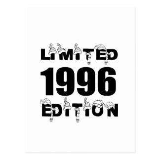 LIMITED 1996 EDITION BIRTHDAY DESIGNS POSTCARD