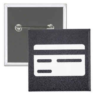 Limited Credits Pictograph 15 Cm Square Badge