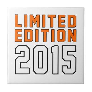 Limited Edition 01 Birthday Designs Ceramic Tile
