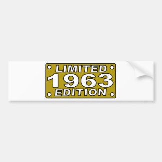 Limited-Edition-1963.png Bumper Sticker