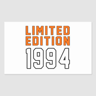 Limited Edition 21 Birthday Designs Sticker