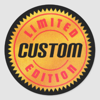Limited Edition: Custom Round Stickers