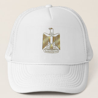 Limited Edition Egypt Golden Eagle crest Trucker Hat