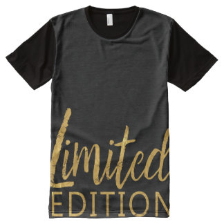 Limited Edition Gold All-Over Print T-Shirt