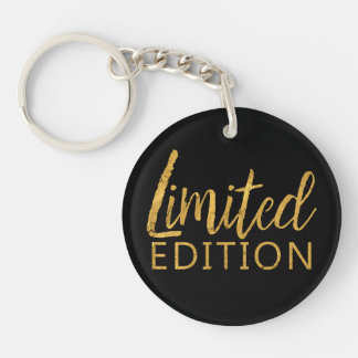 Limited Edition Gold Key Ring