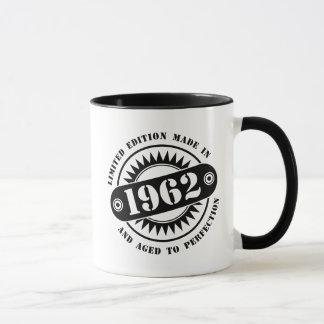 LIMITED EDITION MADE IN 1962 MUG