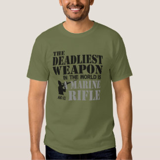 Limited Edition Marine and His Rifle Tshirts