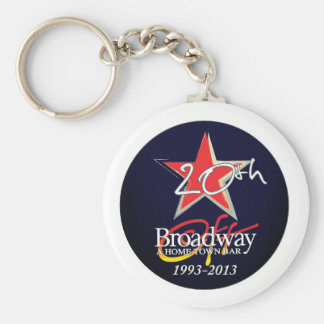 Limited edition off Broadway 20th anniv. keychain