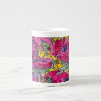 Limited Edition Porcelain Cup, artist Kim Brooks Tea Cup