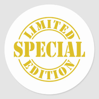 Limited-Edition-special-2.png Classic Round Sticker