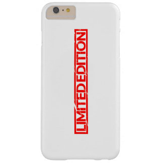 Limited Edition Stamp Barely There iPhone 6 Plus Case
