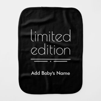 Limited Edition - You Are One of a Kind Baby Burp Cloths