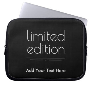Limited Edition - You Are One of a Kind Laptop Sleeves