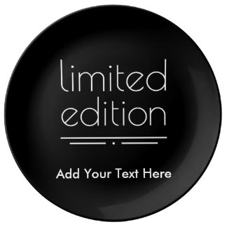 Limited Edition - You Are One of a Kind Porcelain Plate
