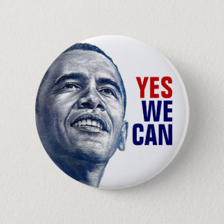 LIMITED:  Yes We Can 6 Cm Round Badge