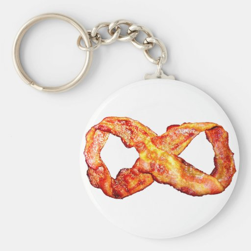 Limitless Bacon Keychain