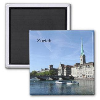 Limmat River in Zürich Magnet