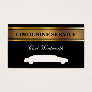 Limo Driver Business Cards