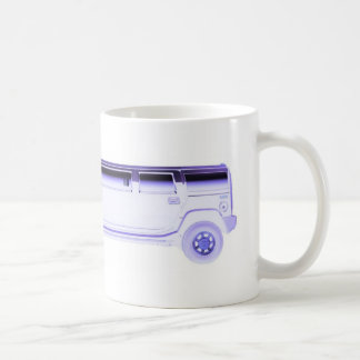 limo hummer coffee mug