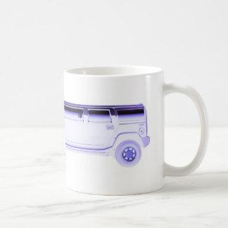 limo hummer coffee mug