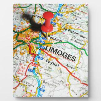 Limoges, France Plaque