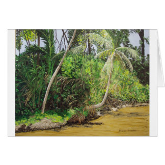 Limon, CostaRica Painting Card