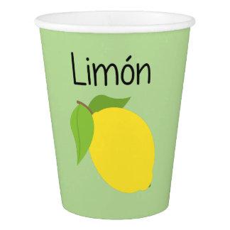 Limon (Lemon) Paper Cup