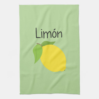 Limon (Lemon) Tea Towel