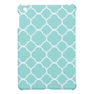 Limpet Shell Blue  Quatrefoil iPad Mini Cases