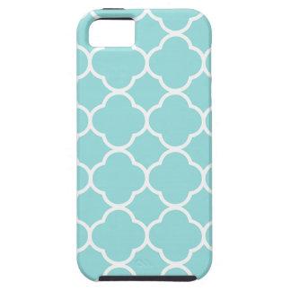 Limpet Shell Blue  Quatrefoil iPhone 5 Covers