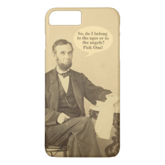 Lincoln Ages or Angels Historic Quote iPhone 7 Plus Case