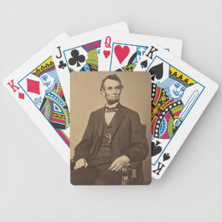 Lincoln Bicycle Playing Cards