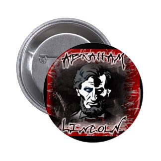 Lincoln Bloodless Horror Star Buttons