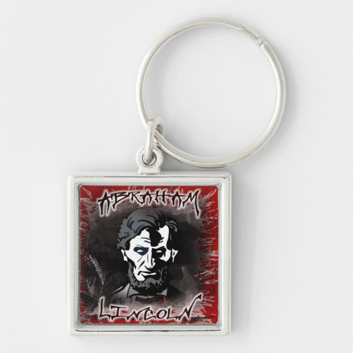 Lincoln Bloodless Horror Star Keychain