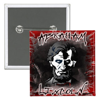 Lincoln Bloodless Horror Star Pin
