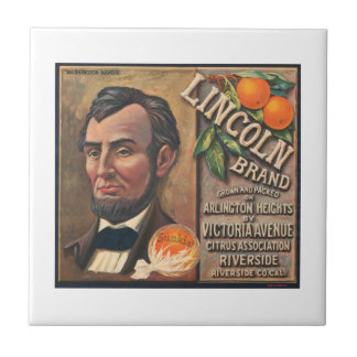 Lincoln Brand VIntage Crate Label Tiles