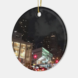 Lincoln Center New York City NYC Photography Ceramic Ornament