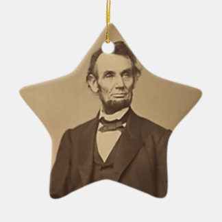 Lincoln Ceramic Ornament