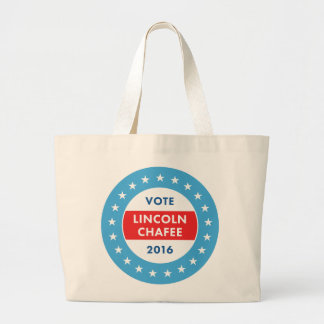 Lincoln Chafee 2016 Jumbo Tote Bag