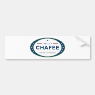 Lincoln Chafee presidential election 2016 Bumper Sticker