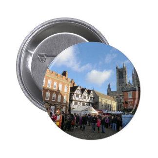 LIncoln Christmas Market Pin