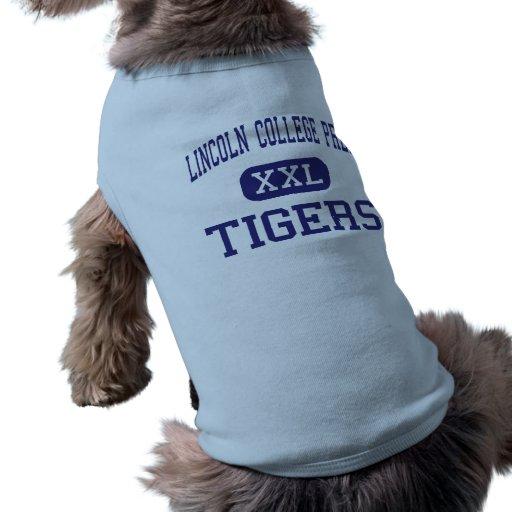 Lincoln College Prep Tigers Kansas City Doggie Tshirt