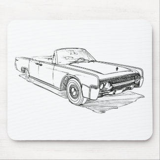 Lincoln Continental 1961 Mousepad