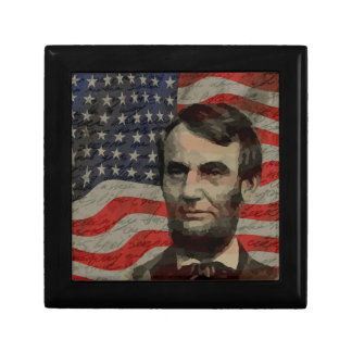 Lincoln day gift box