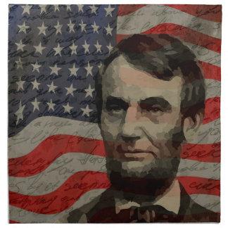 Lincoln day napkin