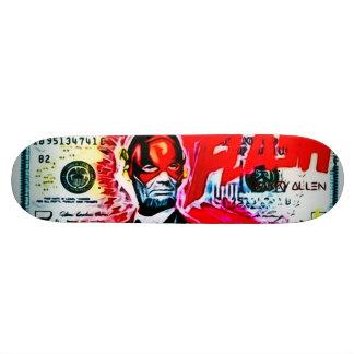 Lincoln Death Flash Urban Graffiti Trick Deck Skate Decks